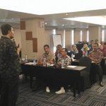 Pelatihan internet marketing ke calon purna bakti PNS di lingkungan Kementrian Hukum & Hak Asasi Manusia dari seluruh Indonesia