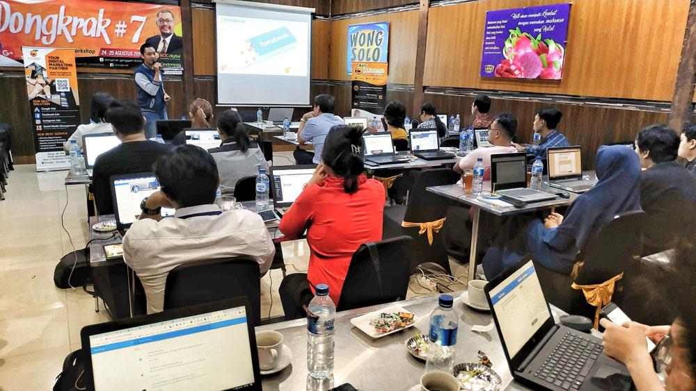 DONGKRAK #7 Digital Marketing Workshop